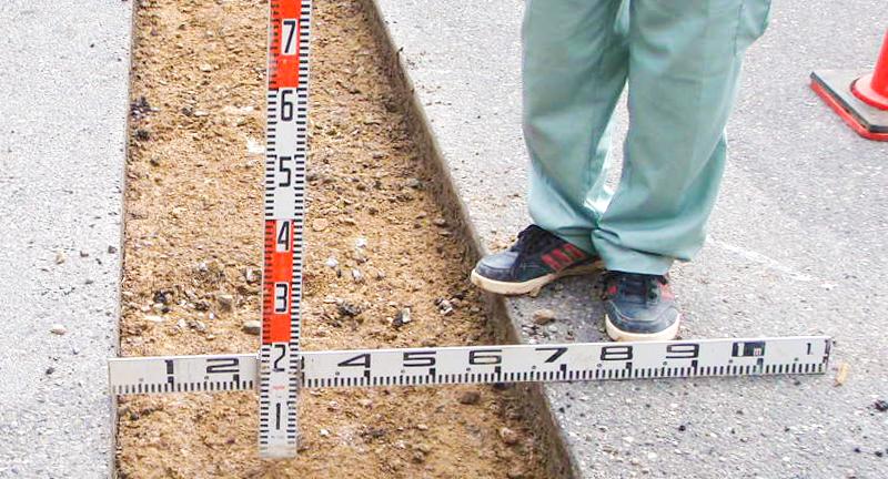 道路測量作業
